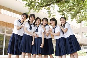 十文字高等学校制服画像