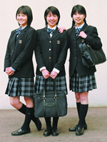 学校特集2010 第18回 女子に人気の制服特集 日本橋女学館中学校・高等学校